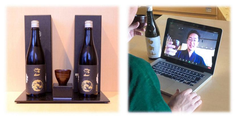 お家時間を楽しく! ぐい飲み片手に地酒を味わおう! 《日本酒と越前焼・越前漆器がコラボ》【福井コラボセール】