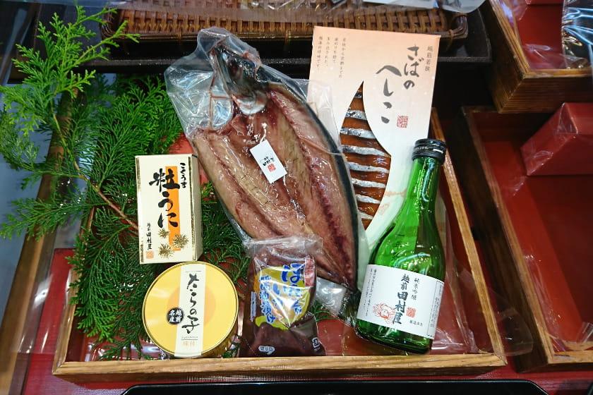 【キャンペーン終了】海産物を買って純米酒をもらっちゃおう!《海産物×日本酒》【福井コラボセール】