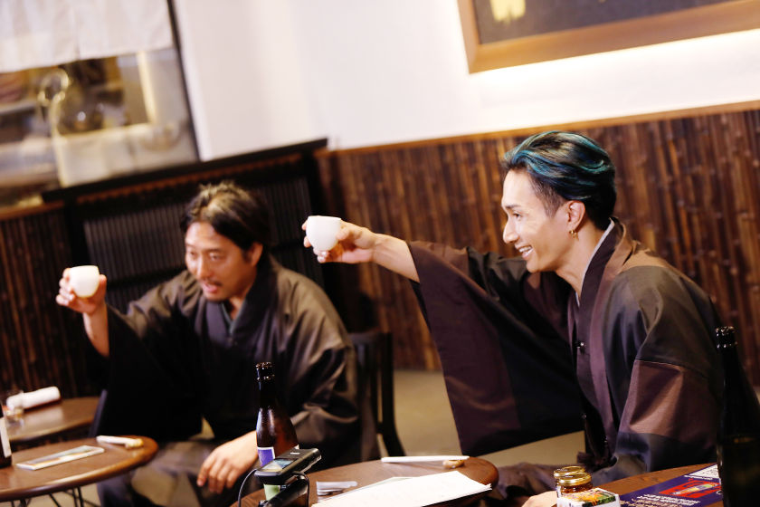 EXILE / EXILE THE SECOND 橘ケンチさんが、日本酒に合うと福井県の地元グルメを大絶賛!ふーぽ限定「本人コメント」あり!