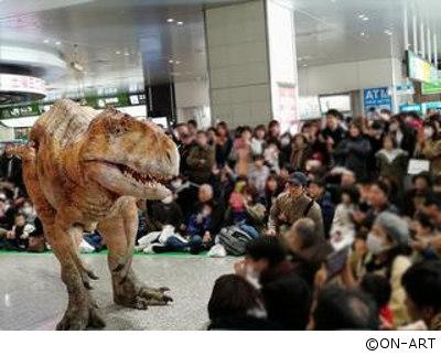 蘇ったフクイラプトル! ~DINO-A-LIVE in 恐竜博物館~