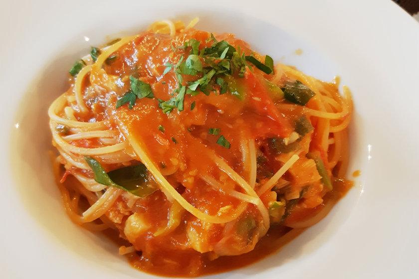 ママ友ランチにおすすめ! 本格パスタが味わえる高浜町のイタリアン「ブルーライトヨコヤマ」に行ってきました。