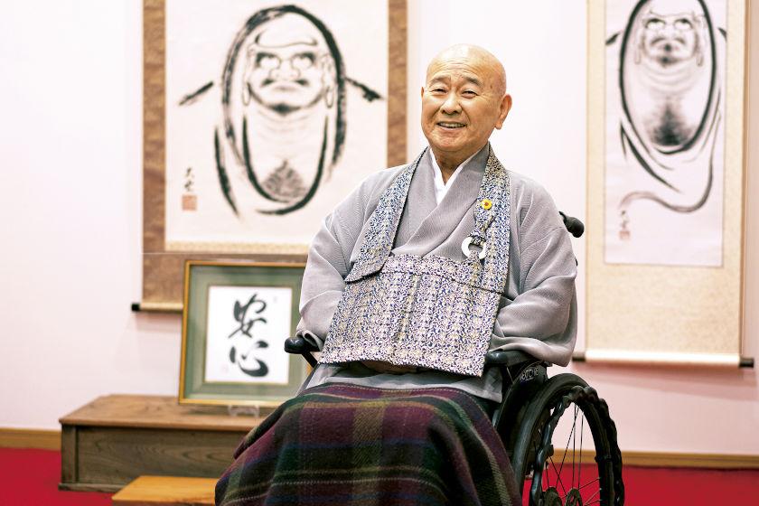 「今この時を精いっぱいに 禅の心を描き、伝え続けたい。」僧侶・禅画家・大雲道人さん【ふくい人に聞く】