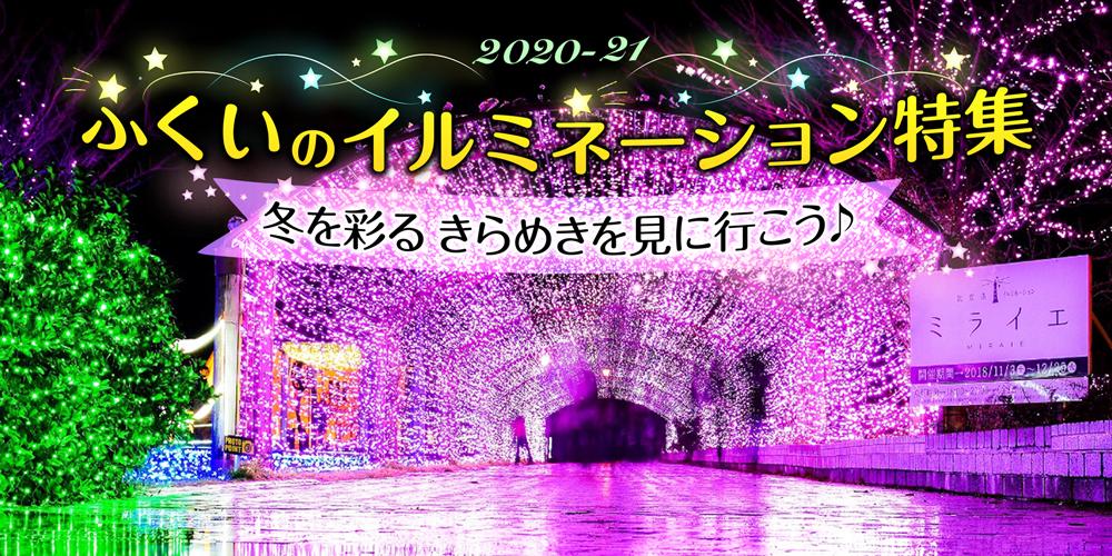 福井のイルミネーション特集2020‐2021☆冬空を美しく彩る灯りを見に行こう♪