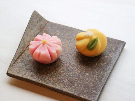春到来!お花の和菓子作り