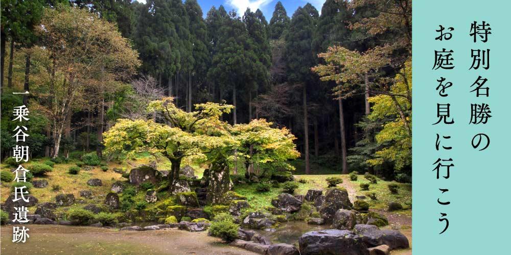 【福井市の魅力再発見!】実はすごい! 庭園マニアも唸る朝倉氏遺跡の4つの庭園を見に行こう♪
