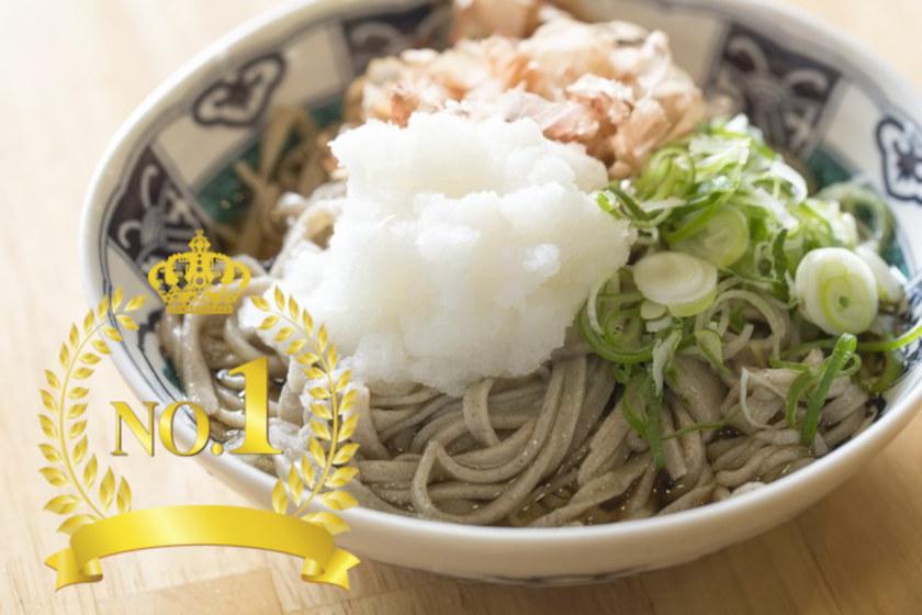 「蕎麦のおいしい都道府県」投票で福井県のそばが全国1位になったよ!