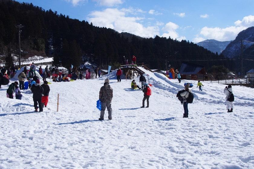 福井の冬はやっぱり雪遊び♪ 坂井市にあるちくちくぼんぼんの「こどもスノーパーク」に遊びに行ってきたよ。【ちょいネタ】