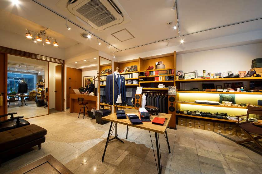 福井市役所近くのメンズドレス店「野路洋服店」で、自分を磨くオーダーメイドに挑戦しよう。