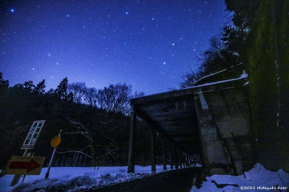 鉄道遺産の星空! 南越前町の旧北陸線山中ロックシェッドで星を見てきました!【ふくい星空写真館】