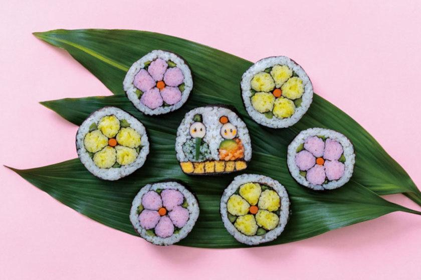ハレの日を彩る♪ 簡単にできる「飾り巻き寿司」の作り方。巻き寿司の歴史とともにご紹介。