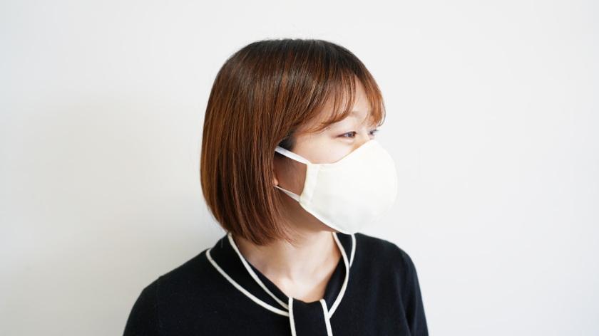 「小杉のマスク」がテレビCM放映中! 小杉織物の新商品プレミアムマスクは、着け心地がよくウイルスや花粉対策もばっちりです。