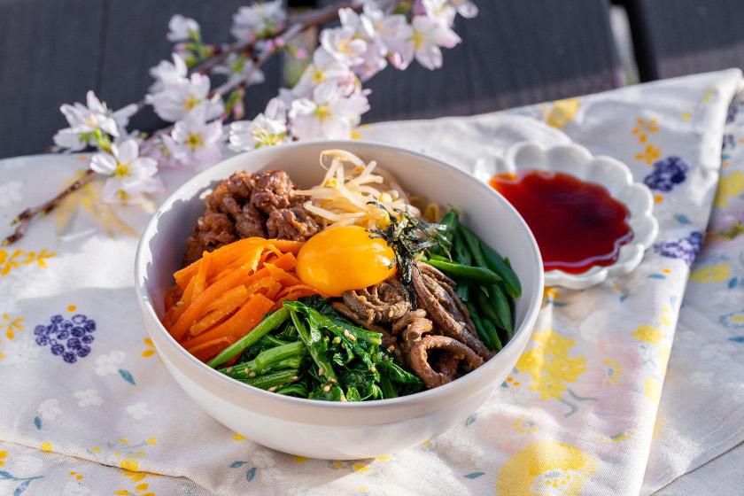 ◎4月のごちそうレシピ◎「菜の花のピビンバ」