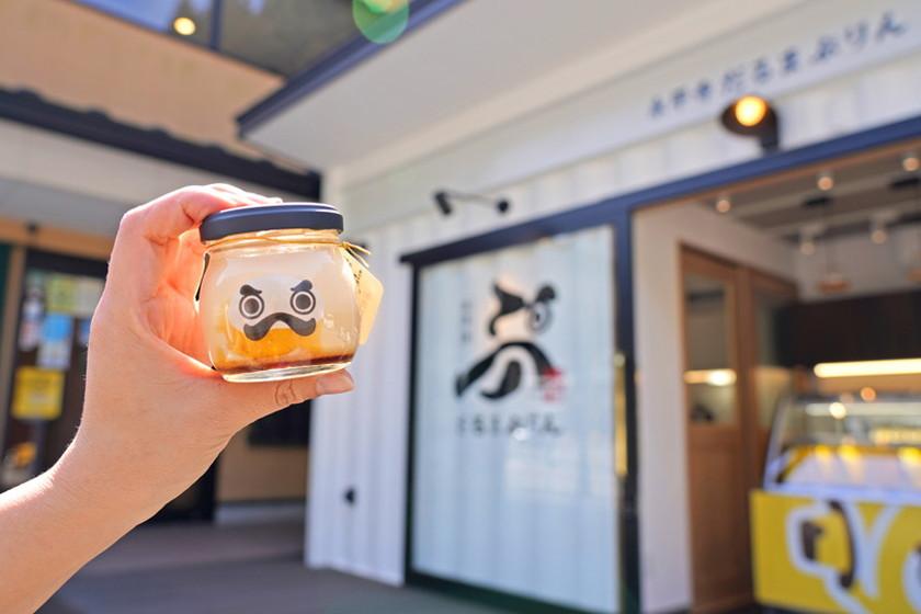 【クーポンあり】永平寺門前にプリン専門店がオープン! SNS映え間違いなしの「永平寺だるまぷりん」をさっそく食べてきたよ♪