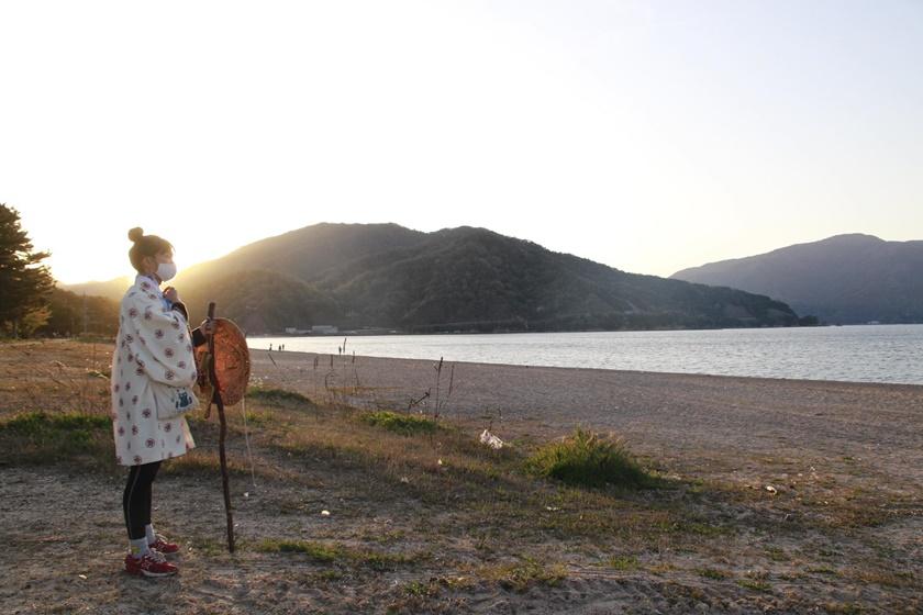 ゴールまであと少し! 生活芸人 田中佑典さんの微住しながら福井を縦断する旅「微遍路(びへんろ)」復路編が進行中♪【ちょいネタ】