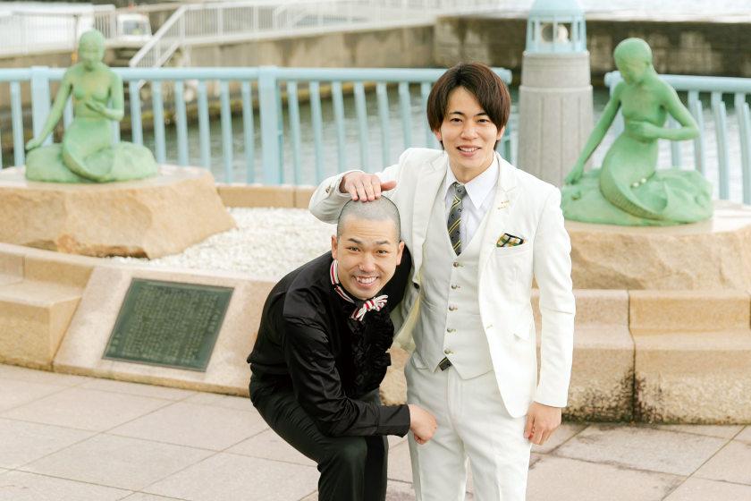 「本場大阪で揉まれながら、 新たな芸で笑いをとりたい。」お笑い芸人 武者武者・杉岡勇治さん、濱坂恭平さん【ふくい人に聞く】