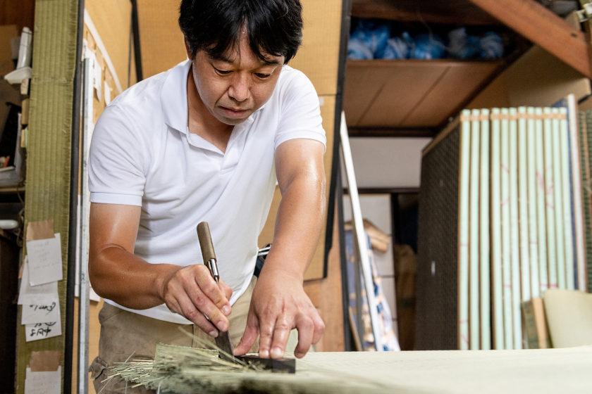 畳職人・玉木宏幸さんと「畳包丁」【ふくいの人と道具】