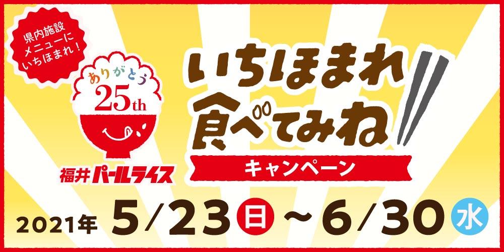 いちほまれで満腹になろう♪ 「一度食べてみね! いちほまれ! キャンペーン」が県内9カ所の飲食店で開催するよ。