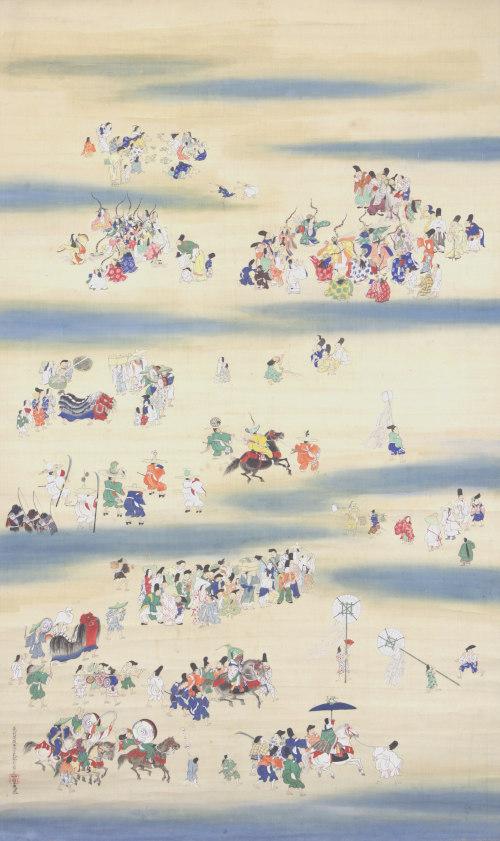 敦賀コレクション夏季公開展示「冷泉為恭 三祭図」