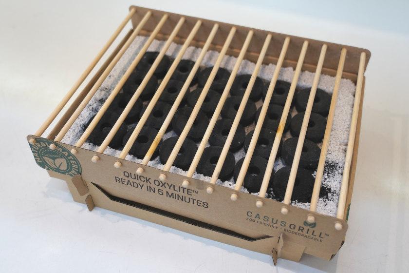 【7/11(日)締切】福井市「La136」から使ったらそのまま捨てられるエコな紙製グリル「クラフトグリル」を3名様にプレゼント!