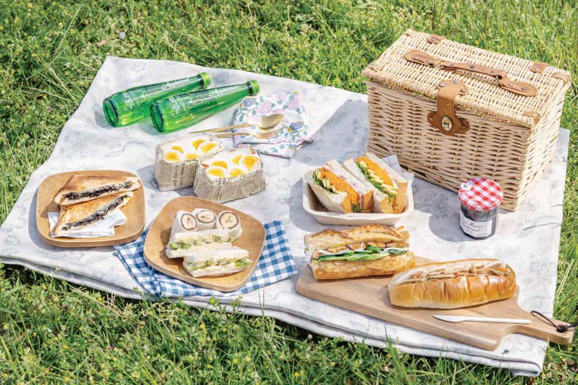 パンが主役のお弁当♪ 楽して簡単にできる惣菜パンやスイーツサンドの作り方。