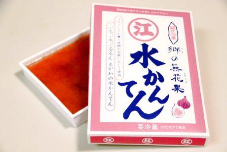 水ようかんの「えがわ」から「無花果(いちじく)水かんてん」が新発売。完熟いちじくを丸ごと使った夏にピッタリの甘味でした♪
