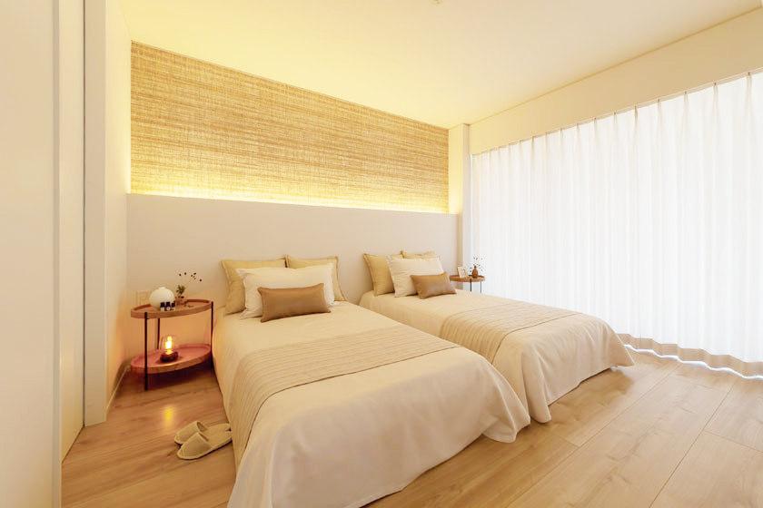 眠りの質を上げる寝具の選び方。快眠のための空間づくりのヒントやオーダーメイド枕レポートも。