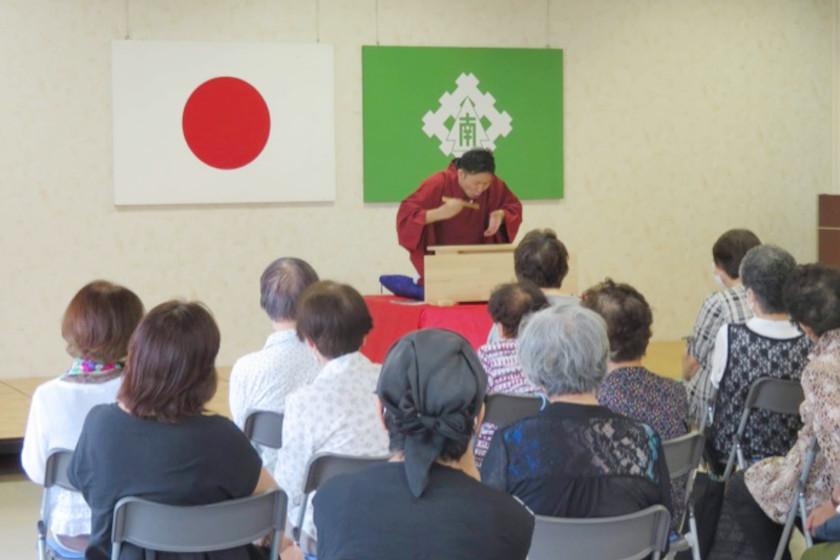笑福亭笑生の「福井市の社南公民館で落語会を開催しました! 」【福井よしもと芸人日記】