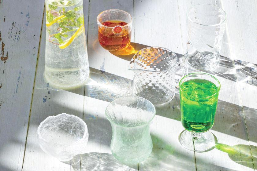 夏に使いたいガラスのコップ。福井県内のガラス作家が作る個性豊かなグラス7選。