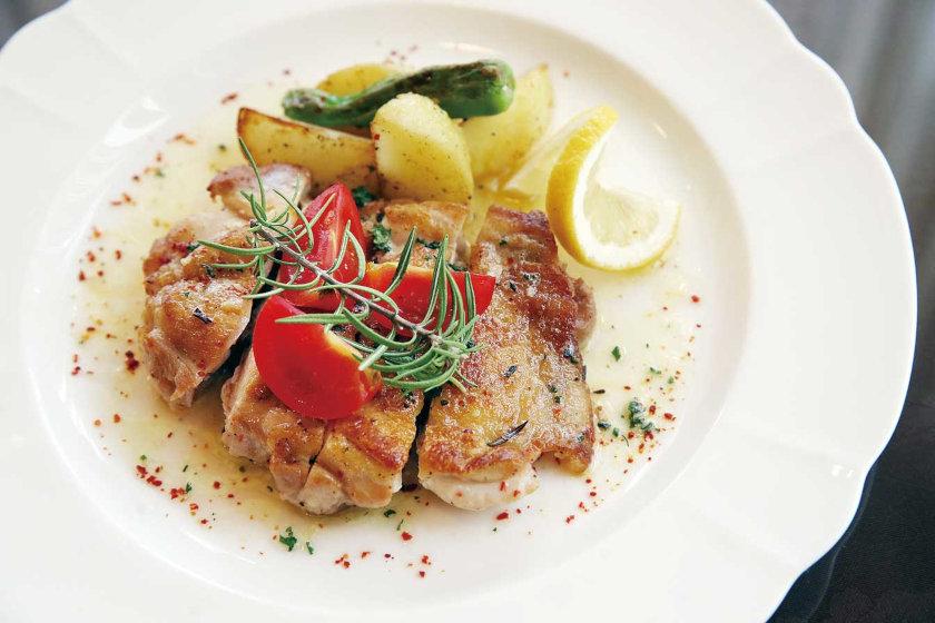 料理人のうちごはんレシピ「ポロ・アッラ・ディアボラ~鶏肉の小悪魔風~」をシェフに教えてもらったよ♪