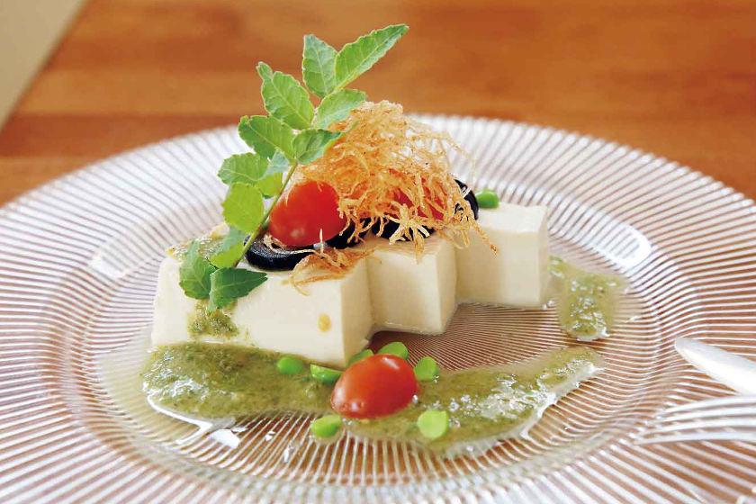 料理人のうちごはんレシピ「ニース風 豆腐サラダ」をシェフに教えてもらったよ♪