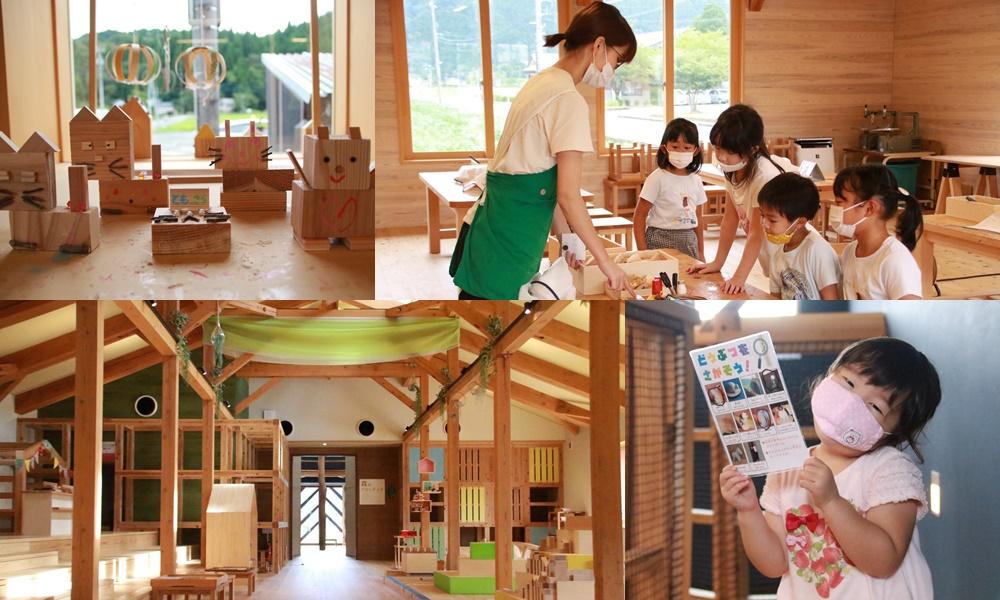 【プレゼントあり】池田町の「あそびハウス こどもと森」は木にふれて学べる木育施設! 小学生も楽しめるコンテンツがいっぱいあるよ♪