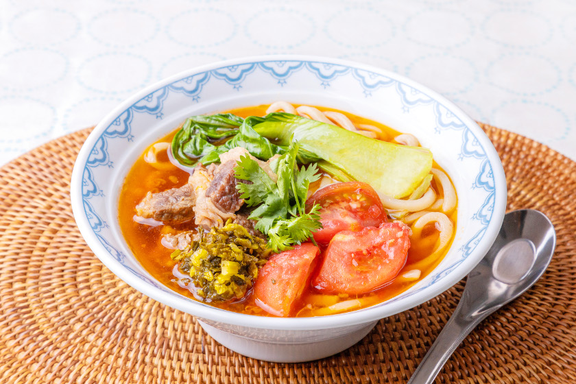 ◎9月のごちそうレシピ◎「台湾風牛肉うどん」