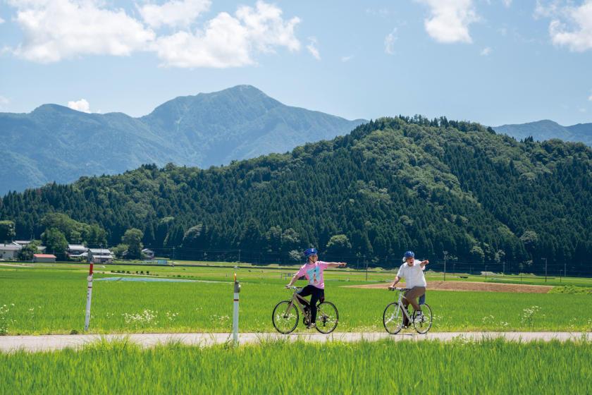 城下町から里地里山まで、大野盆地を自転車でのんびり「ポタリング」しよう♪ お笑い芸人カリマンタンがおすすめコースを巡ってみたよ。