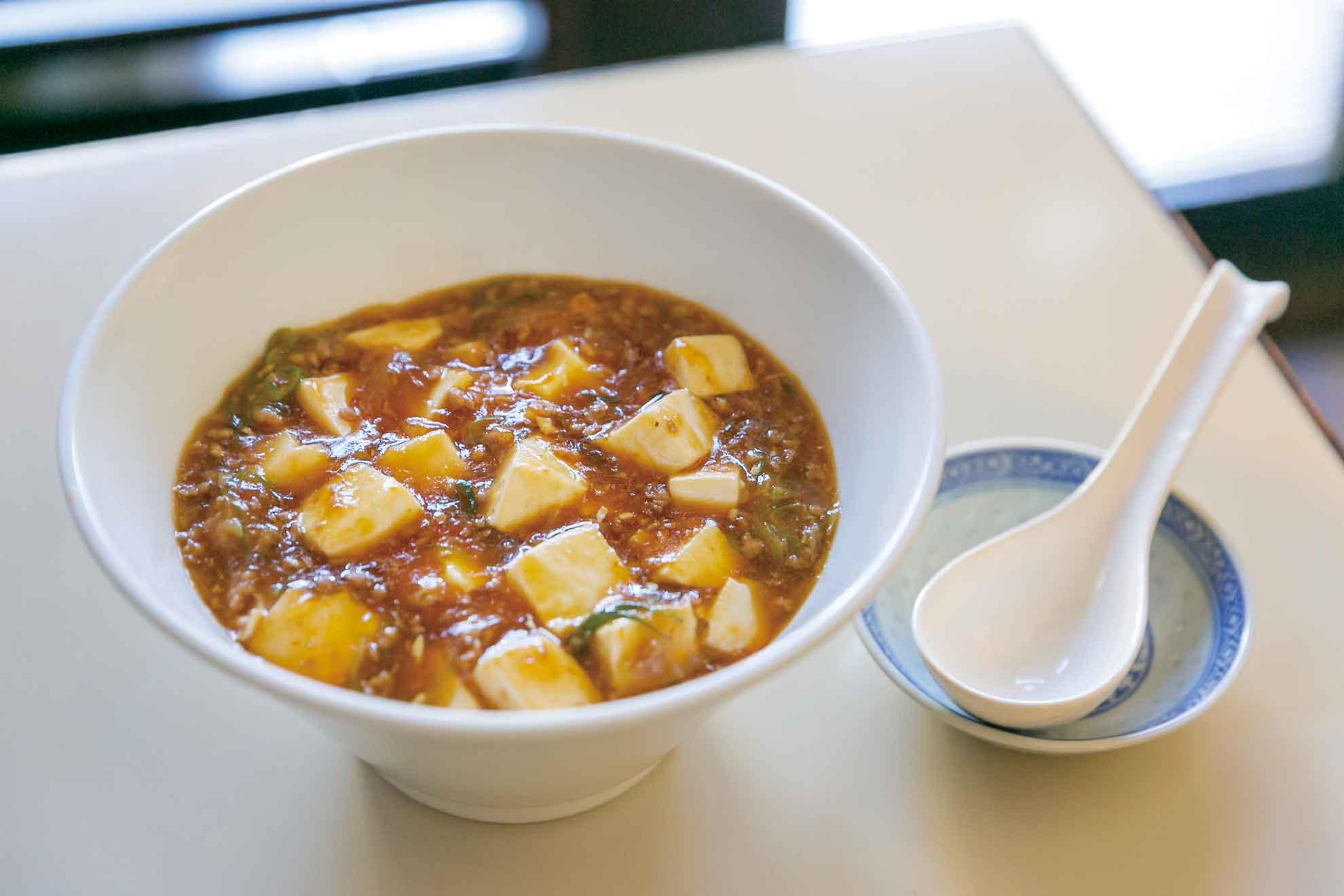 料理人のうちごはんレシピ「ひと味違う ピリ辛麻婆麺(マーボーメン)」をシェフに教えてもらったよ♪