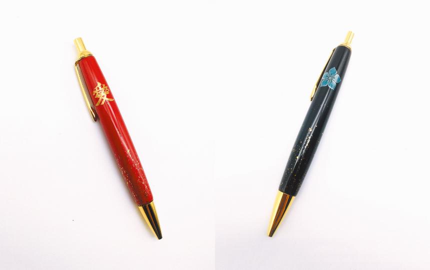★受付期間終了★【プレゼントあり】蒔絵職人が再び本気を出した! 戦国武将の文様入り漆塗りボールペンが素敵すぎる。